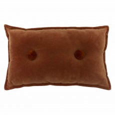 Furn Home & Style Bobble Cushion 30cm x 50cm Brick