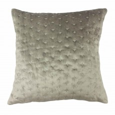 Paoletti Moonlight Cushion 50cm x 50cm Silver
