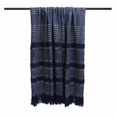 Furn Home & Style Sundown Throw 130cm x 180cm Navy