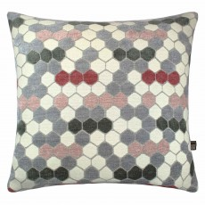 Scatter Box Hive Cushion 43cm x 43cm Blush/Sage