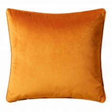 Scatter Box Bellini Velour Cushion 45cm x 45cm Ochre