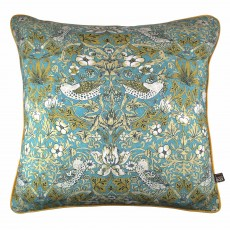 Scatter Box Vivaldi Cushion 43cm x 43cm Teal/Gold