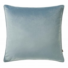 Scatter Box Bellini Velour Cushion 45cm x 45cm Cloud Blue