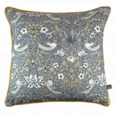 Scatter Box Vivaldi Cushion 43cm x 43cm Grey/Gold