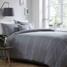 Appletree Salcombe Duvet Cover Set Slate