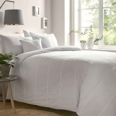 Appletree Salcombe Duvet Cover Set Silver