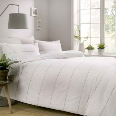 Appletree Salcombe Duvet Cover Set White