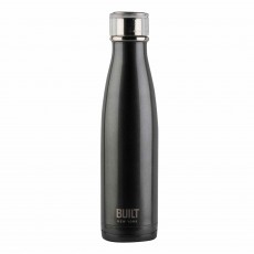 Built 500ml Double Walled Stainless Steel Water Bottle Charcoal Grey