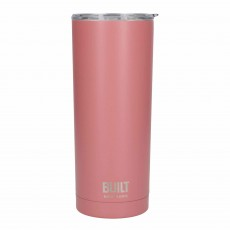 Built 590ml Double Walled Stainless Steel Travel Mug Pink