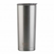 Built 590ml Double Walled Stainless Steel Travel Mug Silver