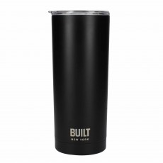 Built 590ml Double Walled Stainless Steel Travel Mug Black