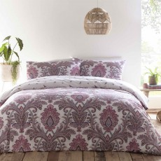 Appletree Carmel Reversible Duvet Cover Set Multi Coloured
