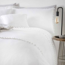 Appletree Paignton Duvet Cover Set White