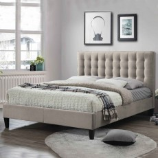 Becky Bedstead Fabric Champagne