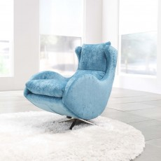 Fama Lenny Swivel & Rocking Armchair Fabric Series 6