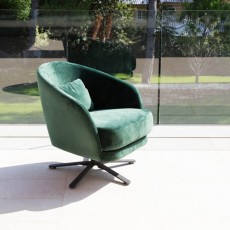 Fama Komba Swivel Armchair Fabric Series 6