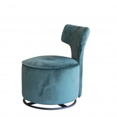 Fama Zipi Armchair Metal Legs Fabric Series 6
