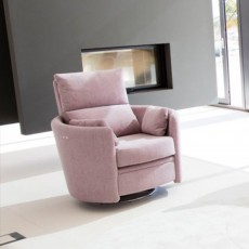 Fama Venus Manual Reclining Armchair Fabric Series 6