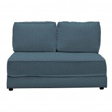 Clint 2 Seater Sofa Bed No Arms Fabric