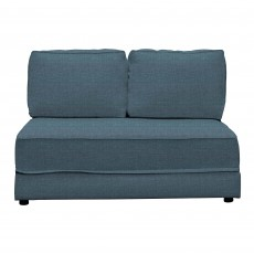 Clint 3 Seater Sofa Bed No Arms Fabric