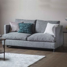 Hastings 3 Seater Sofa Bed With Open Coil Mattress Fabric