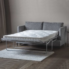Hastings 2 Seater Sofa Bed With Open Coil Mattress Fabric