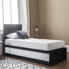 Granville Single (90cm) Guest Bed With Pocket Sprung Mattress Fabric