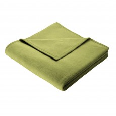 Biederlack Plain Throw 150cm x 200cm Olive