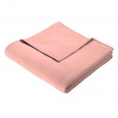 Biederlack Plain Throw 150cm x 200cm Coral