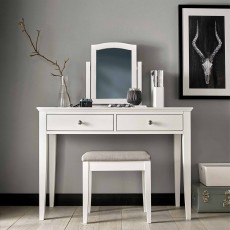 Julie Vanity Mirror Painted Off-White