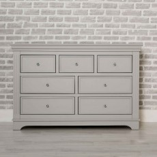 Clarence 4+3 Drawer Chest of Drawers Grey