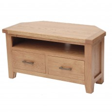 Holly Corner TV/Entertainment Unit Oak