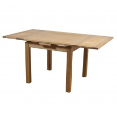 Holly 2-4 Person Draw Leaf Extending Dining Table Oak