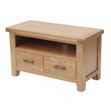 Holly Narrow TV/Entertainment Unit Oak