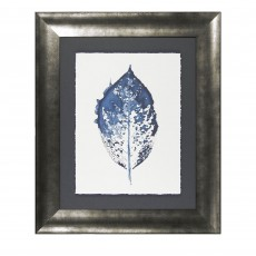 Camelot New Beginning in Blue IV 61cm x 73cm Picture By Amy Evans Grey Frame