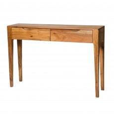Rosen 2 Drawer Console Table Natural