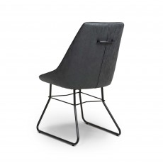 Christy Dining Chair Wax Grey
