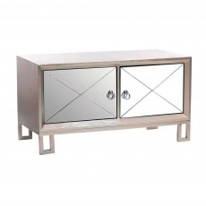 Diamond 2 Door TV/Entertainment Unit Grey