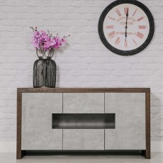 Stromsund 2 Door Sideboard Grey