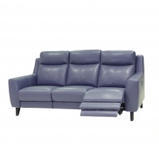 Cannetto Electric Reclining 3 Seater Sofa Leather Category 20