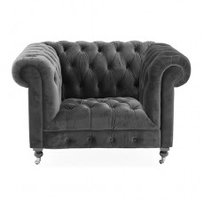 Berrington Armchair Fabric Grey