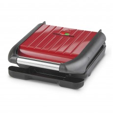 George Foreman 3 Portion Family Grill Red