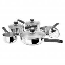 Judge Vista 5 Piece Non Stick Draining Saucepan Set
