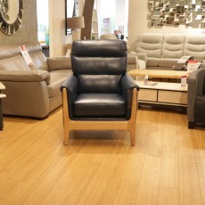 Cintique Lydia Armchair Leather (Available in Galway & Kilkenny) WAS €1,929 NOW €1,289