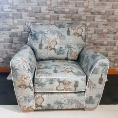 Henderson Fabric Armchair (Available in Galway & Kilkenny) WAS €1,945 NOW €1,299
