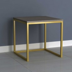 Analise Side/Lamp Table Grey
