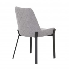 Calabria Dining Chair Fabric Grey