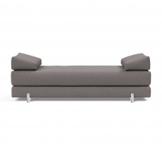 Innovation Living Sigmund Single Day Bed With Metal Legs Fabric