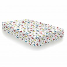 Cosatto Monster Mob Single Fitted Sheet (Twin Pack) Multi-Coloured