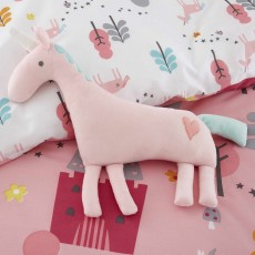 Cosatto Unicorn Land Cushion 30cm x 30cm Pink